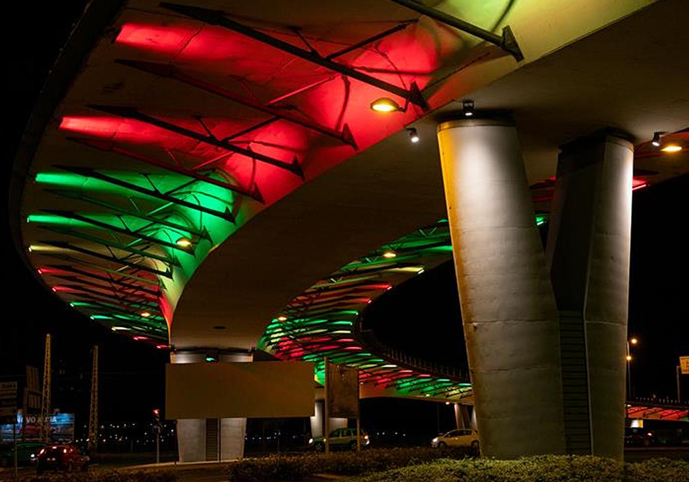 Viaduto Algés - Iluminação Cénica